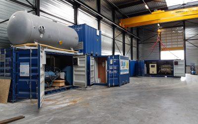 Opnieuw uitbreiding van RTC Olie -vrije compressor vloot