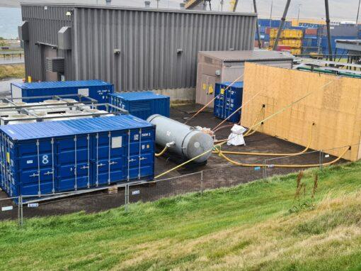 Aluminium smelter – Iceland